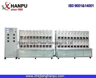Three Phase Close-Link Electrical Energy Meter Test Bench with ICT (PTC-8320E)